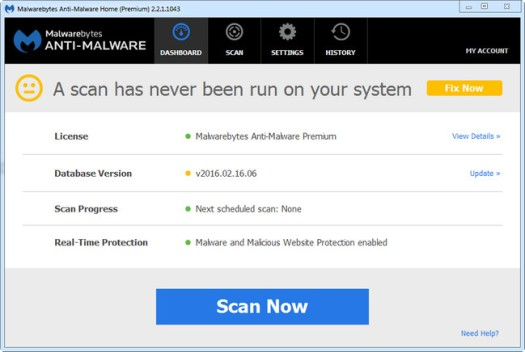 Malwarebytes Anti-Malware Premium 2.2.1.1043 Amin Vincent